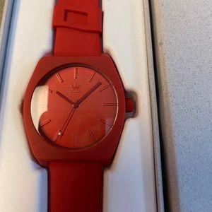 Adidas silicone watch